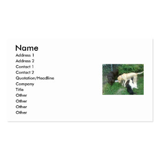 labrador retrievers Double-Sided standard business cards (Pack of 100)