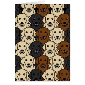 Labrador Retrievers Card