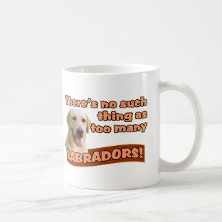 LABRADOR RETRIEVERS CLASSIC WHITE COFFEE MUG