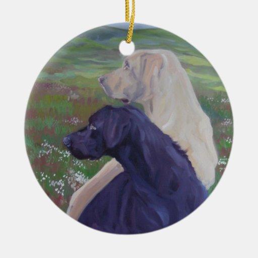 Labrador Retrievers Ornament