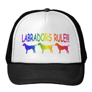 Labrador Retrievers Rule Trucker Hat