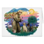 Labrador Retrievers (two) Cards