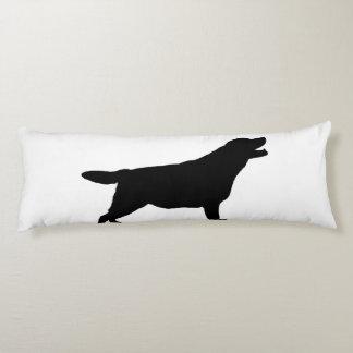 Labrador Retriver hunting dog Silhouette Body Pillow