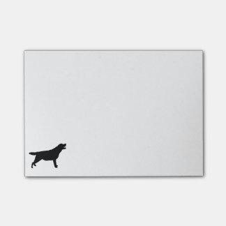 Labrador Retriver hunting dog Silhouette Post-it Notes