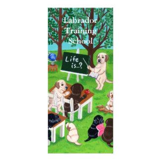 Labrador School Painting Custom Rack Cards