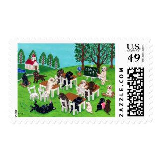 Labrador School Postage