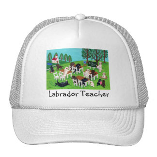 Labrador School Trucker Hat
