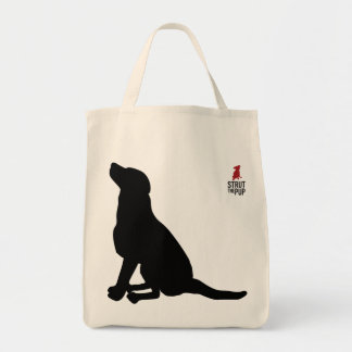 Labrador Shopping Tote from Strut the Pup Canvas Bag