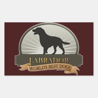 Labrador Rectangle Sticker