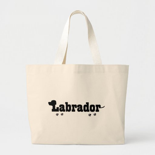Labrador Word Art Dog Lover Gifts Canvas Bags