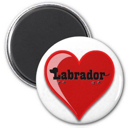 Labrador Word Art Dog Lover Gifts Fridge Magnets