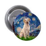 Labrador (Y7) - Starry Night Button