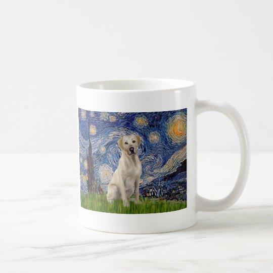 Labrador (Y7) - Starry Night Coffee Mug