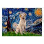 Labrador (Y7) - Starry Night Greeting Card