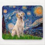 Labrador (Y7) - Starry Night Mouse Pad