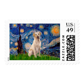Labrador (Y7) - Starry Night Postage