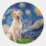 Labrador (Y7) - Starry Night Stickers