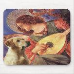 Labrador (Y8) - ángel de la mandolina Alfombrilla De Raton
