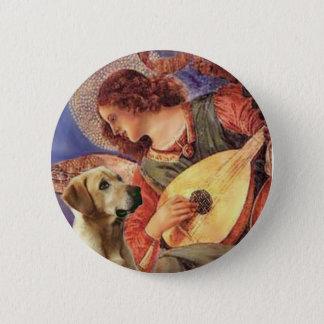 Labrador (Y8) - Mandolin Angel Button