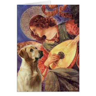 Labrador (Y8) - Mandolin Angel Greeting Card
