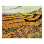 Labrador y molino, granja del campo w de Van Gogh Impresiones
