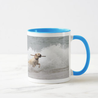 Labrador - Yellow - Go Fetch! Mug