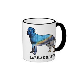 Labradorita Taza De Dos Colores