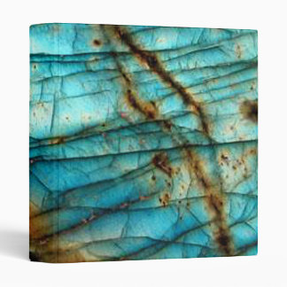Labradorite 3 Ring Binder