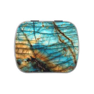 Labradorite Jelly Belly Candy Tin