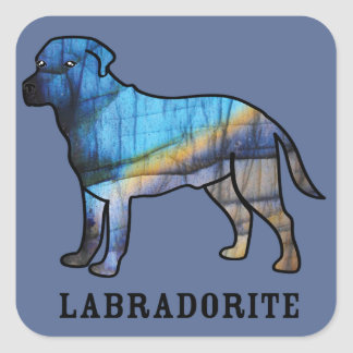 Labradorite Square Sticker