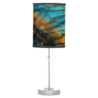 Labradorite Table Lamp