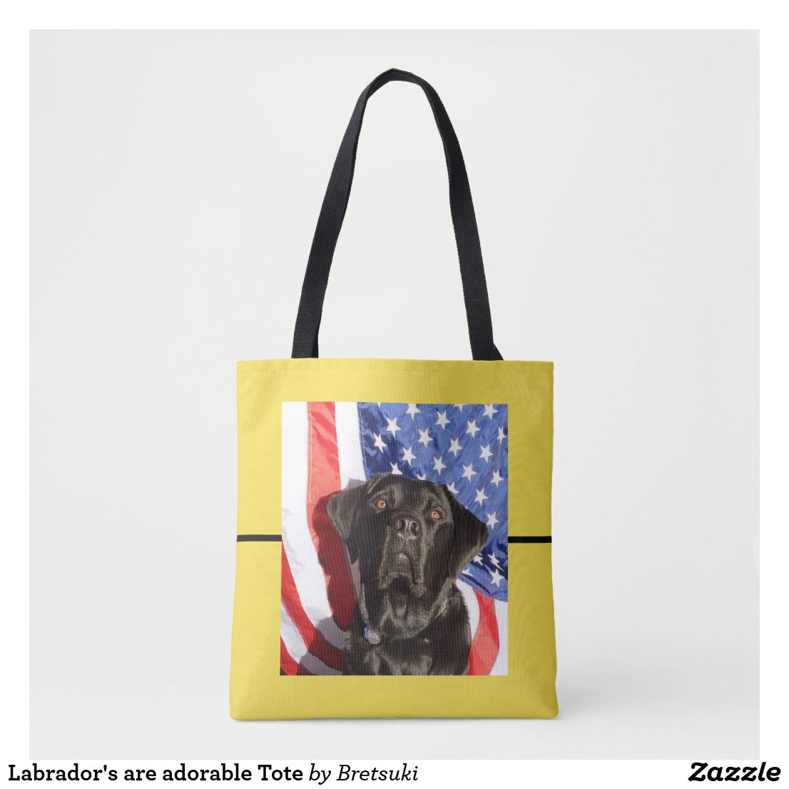 Labrador's are adorable Tote