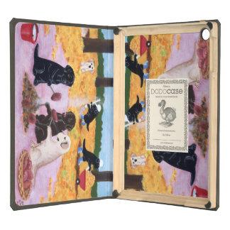 Labradors Autumn Fun Painting iPad Air Case