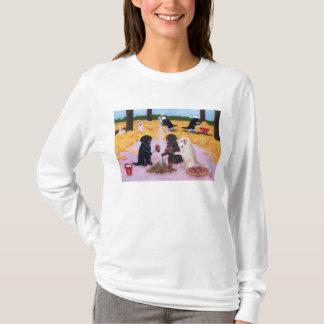 Labradors Autumn Fun T-Shirt