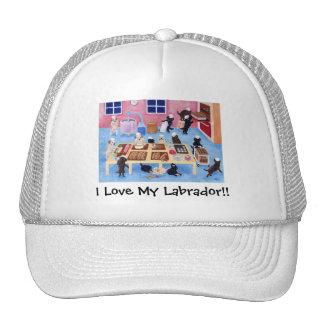 Labradors Bakery Mesh Hat