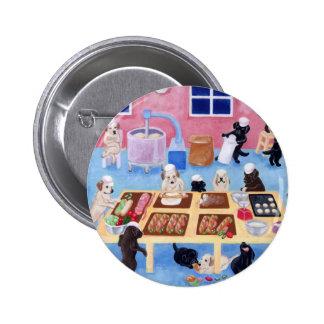 Labradors Bakery Pinback Button