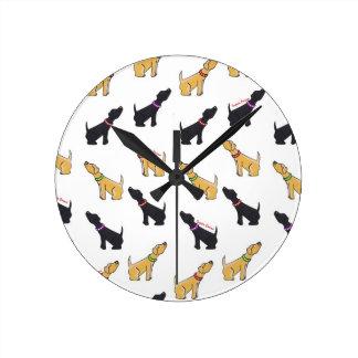 Labradors Clock