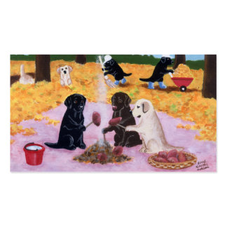 Labradors Thank You Card Business Cards