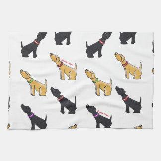 Labradors Towels