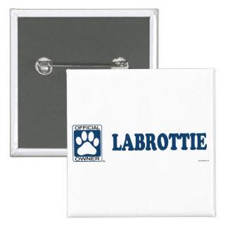 Labrottie Blue 2 Inch Square Button