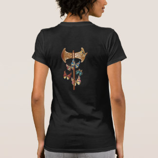 Labrys y mariposas - camiseta - 1