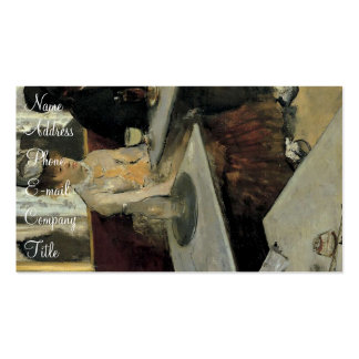 'L'Absinthe' Business Cards