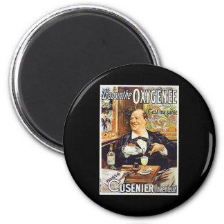 L'Absinthe Cusenier 2 Inch Round Magnet