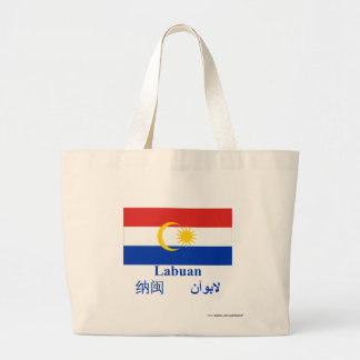 Labuan flag with name bags