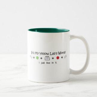LabYellow Two-Tone Coffee Mug
