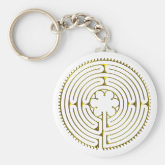Labyrinth Chartres Keychain
