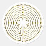 Labyrinth Chartres Sticker
