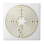 Labyrinth Chartres Tiles