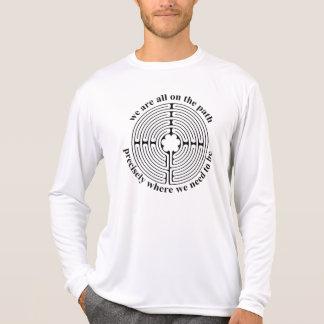 Labyrinth Design Tee Shirts