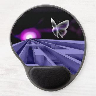 Labyrinth Ergonomic Mousepad Gel Mouse Mat